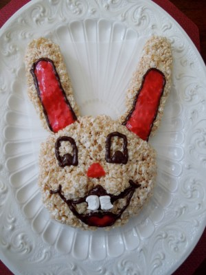 EBL Food Allergies: Allergy-Friendly Easter Bunny Cake