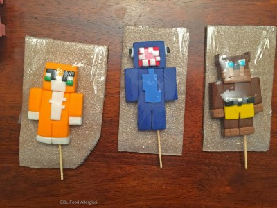 Stampy, Squid, Lfor Lee, Minecraft Birthday Cake Toppers