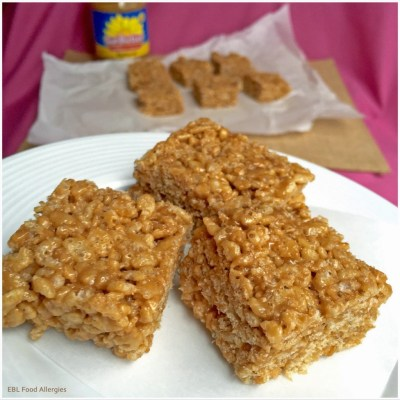 SunButter Honey Crispy Treats