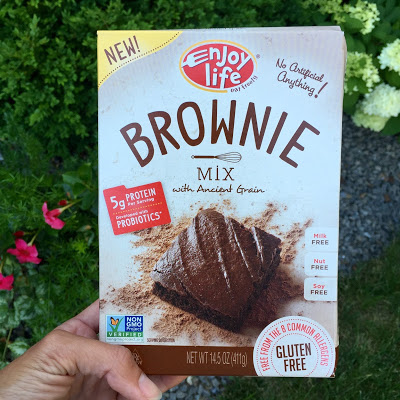 Enjoy Life Food's NEW Brownie Mix #tothefullest