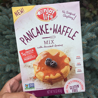 Enjoy Life Foods Pancake & Waffle Mix - #allergyfriendly #top8free #tothefullest #vegan #glutenfree