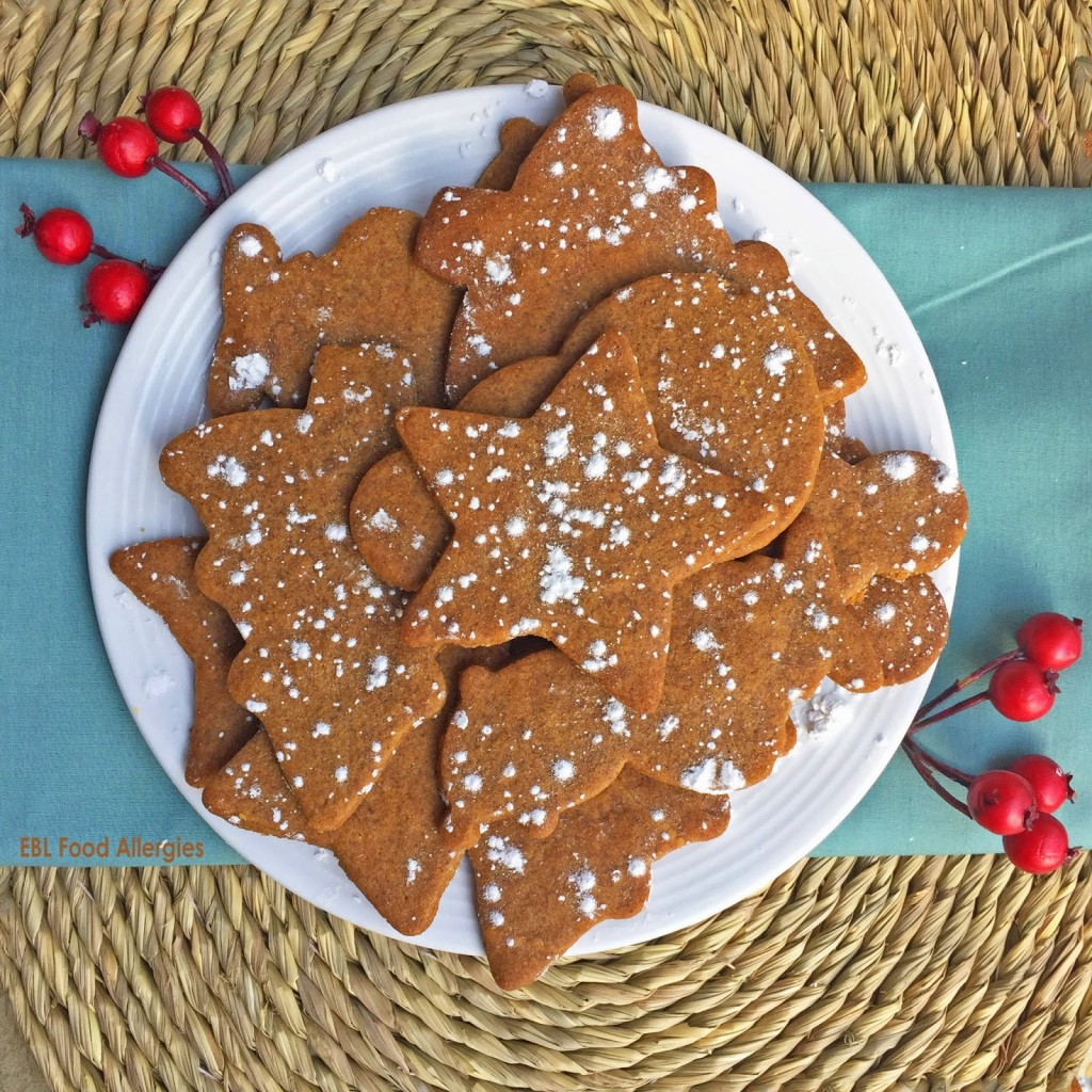 Allergy Friendly Molasses Cut Out Cookies Dairyfree Soyfree