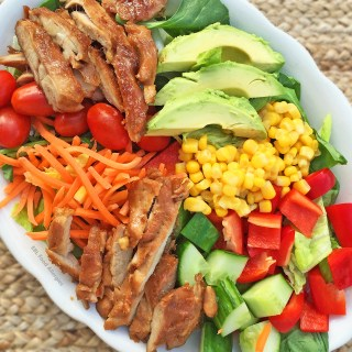 Try this flavorful Sweet Dairy Free Chopped Chicken Salad