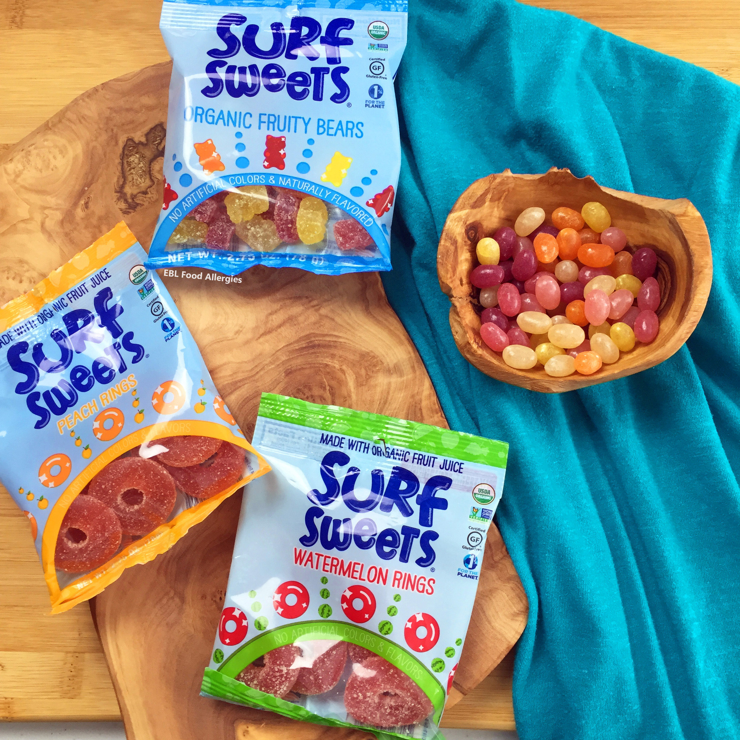 Allergy-Friendly Surf Sweets Candy Review