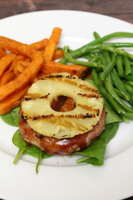 Dairy and Egg Free BBQ Pineapple Turkey Burgers