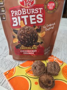 Enjoy Life Foods Cranberry Orange ProBurst Bites Review