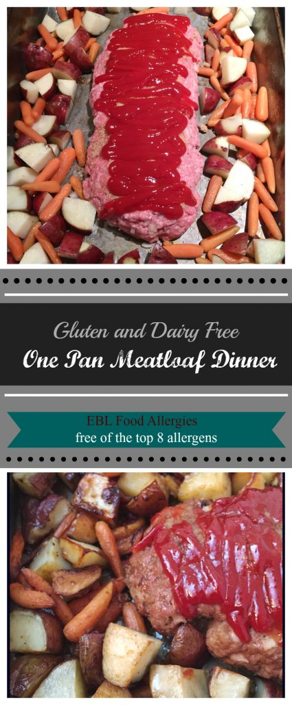 Gluten and Dairy Free Meatloaf, also top 8 free