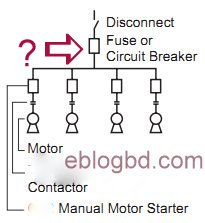 How to select Fuse or Circuit Breaker for group of motor