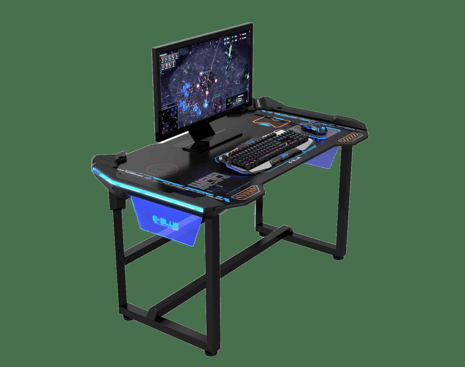 Table de Jeu ESPORT LED connect  Retroclaire EBLUE