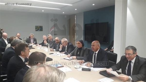 eBlue_economy_ لقاء وزير النقل المصري بشركات_ جمعية الصناعات البحرية
