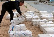 eBlue_economy_ ضبط اكبر شحنة كوكايين داخل اكياس الاسمدة مخزنة فى حاوية بميناء انتويرب