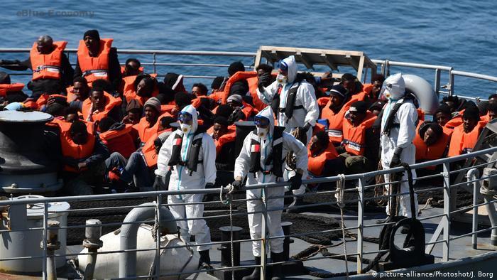Human Rights At Sea :180 survivors on board the Ocean Viking - Blue Economy  - موقع بحري شامل