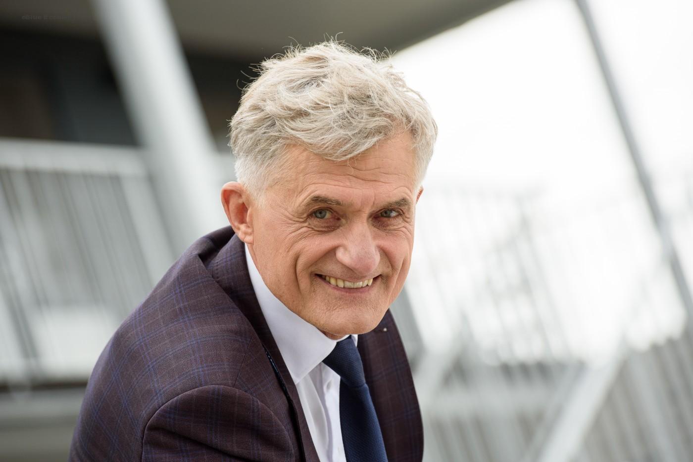 eBlue_economy_Mr Algis Latakas, the new CEO of the Port of Klaipeda