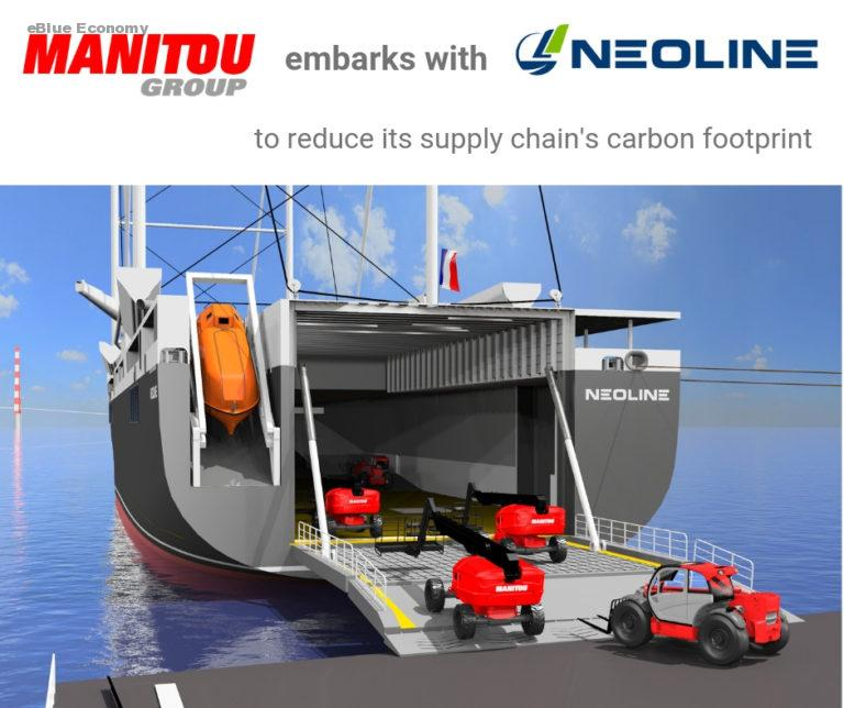eBlue_economy__Manitou Group formalizes its partnership with NEOLINE to reduce its carbon footprint