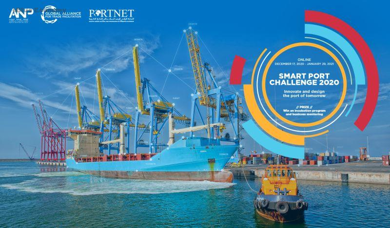 eBlue_economy_ SMART PORT CHALLENGE_ in the port sector in Morocco