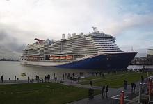 eBlue_economy_Mardi Gras sailed into Cruise Port Rotterdam