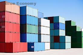 Blue_economy_حاويات_فارغة