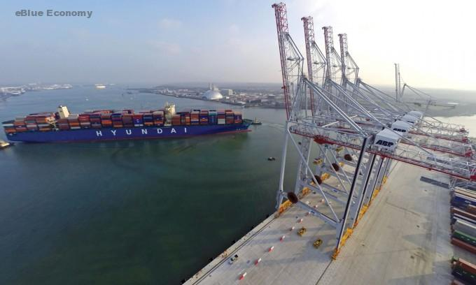 eBlue_economy_ DP World announces £40mln pounds worth of investment at its Southampton termina