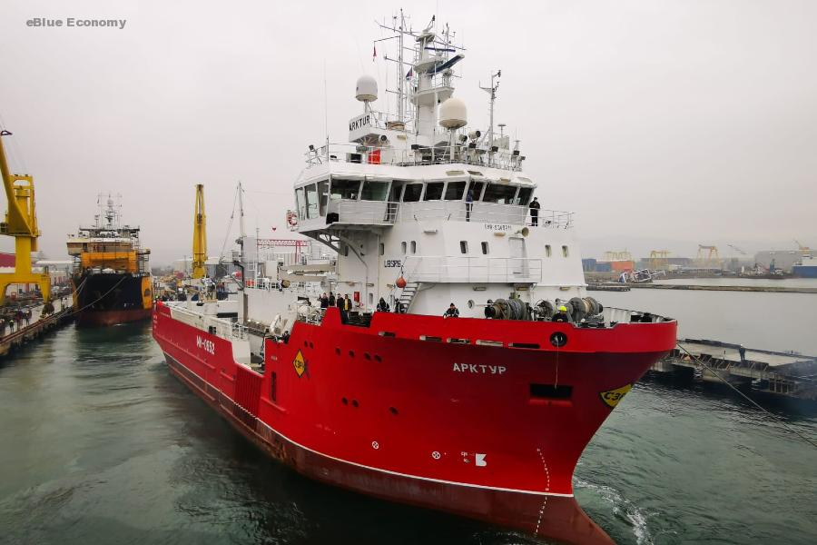 eBlue_economy_Arktur – Ex-supply vessel undergoes conversion to take on crab catching in Russian waters