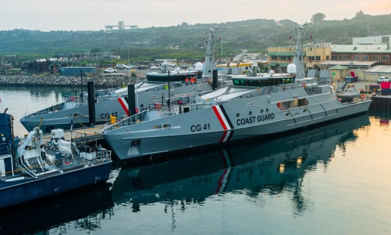eBlue_economy_Austal Australia delivers two Cape-class patrol boats to Trinidad and Tobago Coast Guard