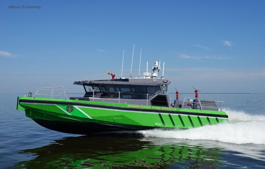 eBlue_economy_FB-21 & FB-73 – New high-speed response boats enter service with Miami-Dade Fire Rescue