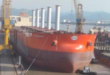 eBlue_economy_Fleet of ships serving Vale receives first VLOC in the world equipped with rotor sails