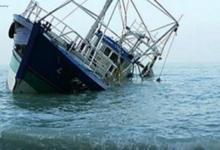 eBlue_economy_غرق مركب صيد _صورة ارشفية