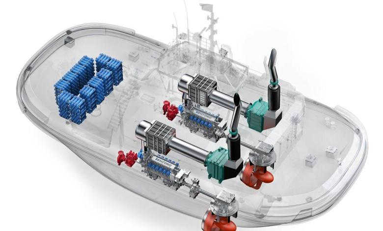 eBlue_economy_'hovering' hydrogen-powered boat_ صورة ارشفية