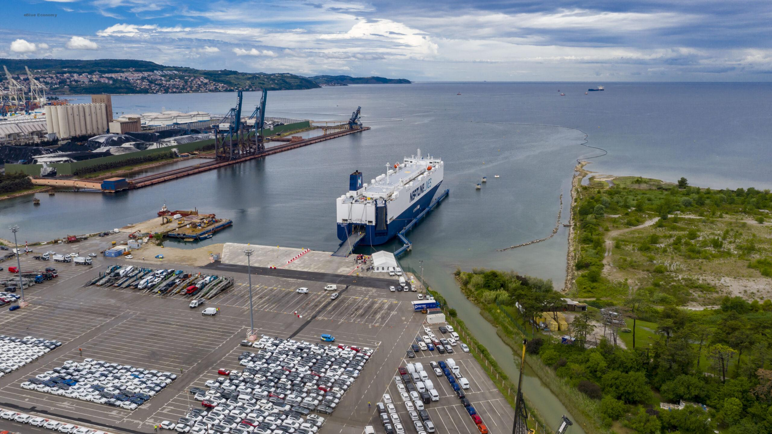 eBlue_economy_ Extend of the container quayside in the Port of Koper