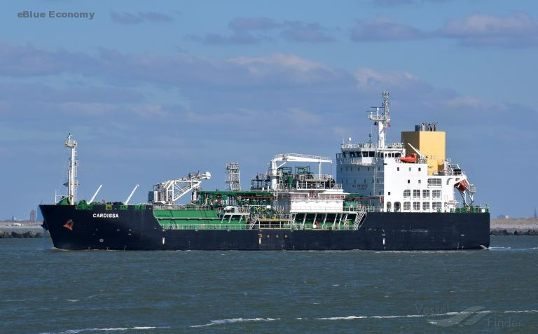 eBlue_economy_Shell sells Cardissa LNG bunker to Pan Ocean