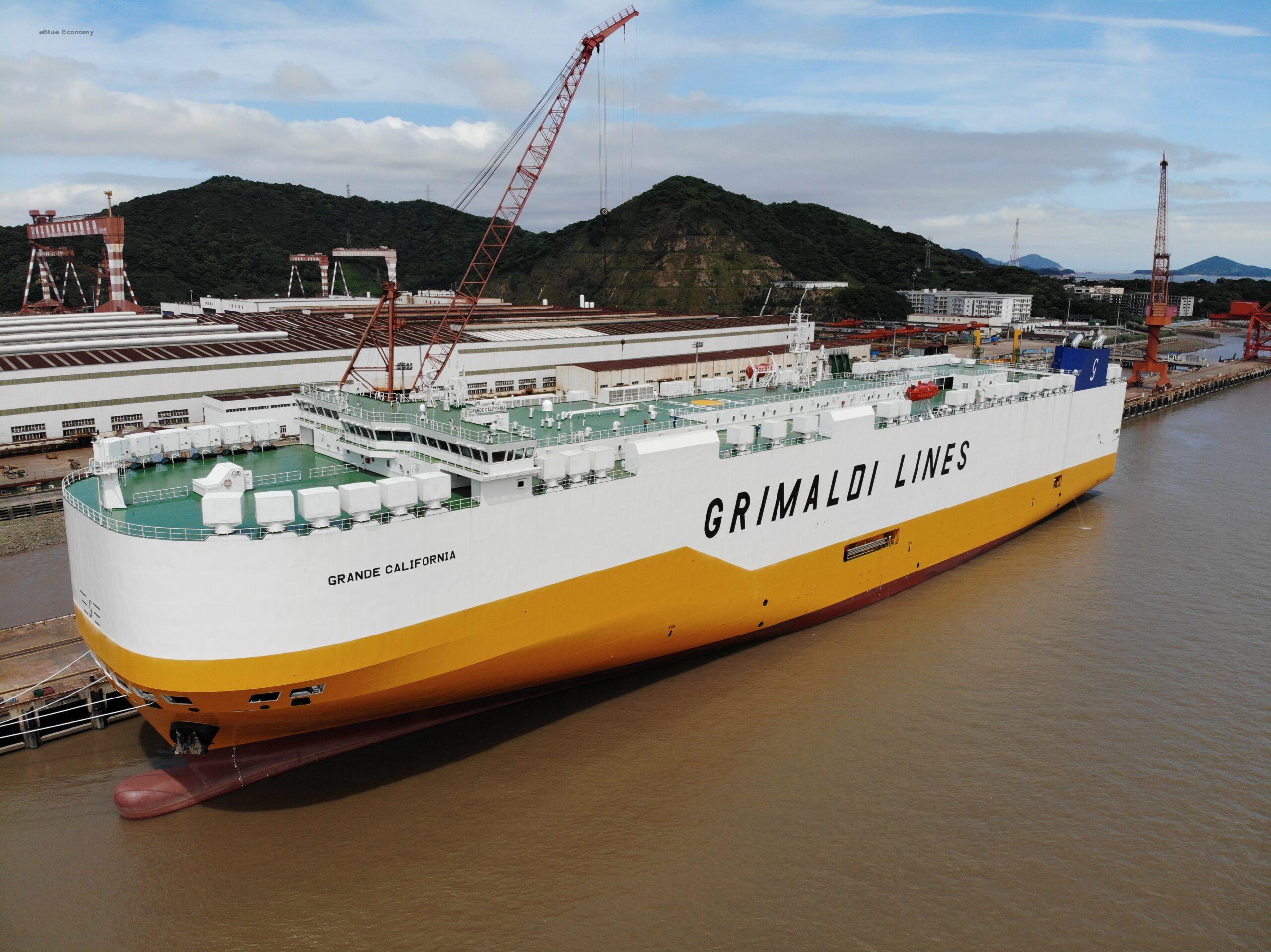 eBlue_economy_The Grimaldi Group takes delivery of Grande California