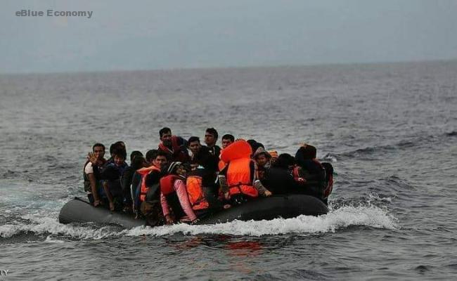 eBlue_economy_إنقاذ 80 مهاجرا قبالة سواحل شمال فرنسا_صورة ارشفية