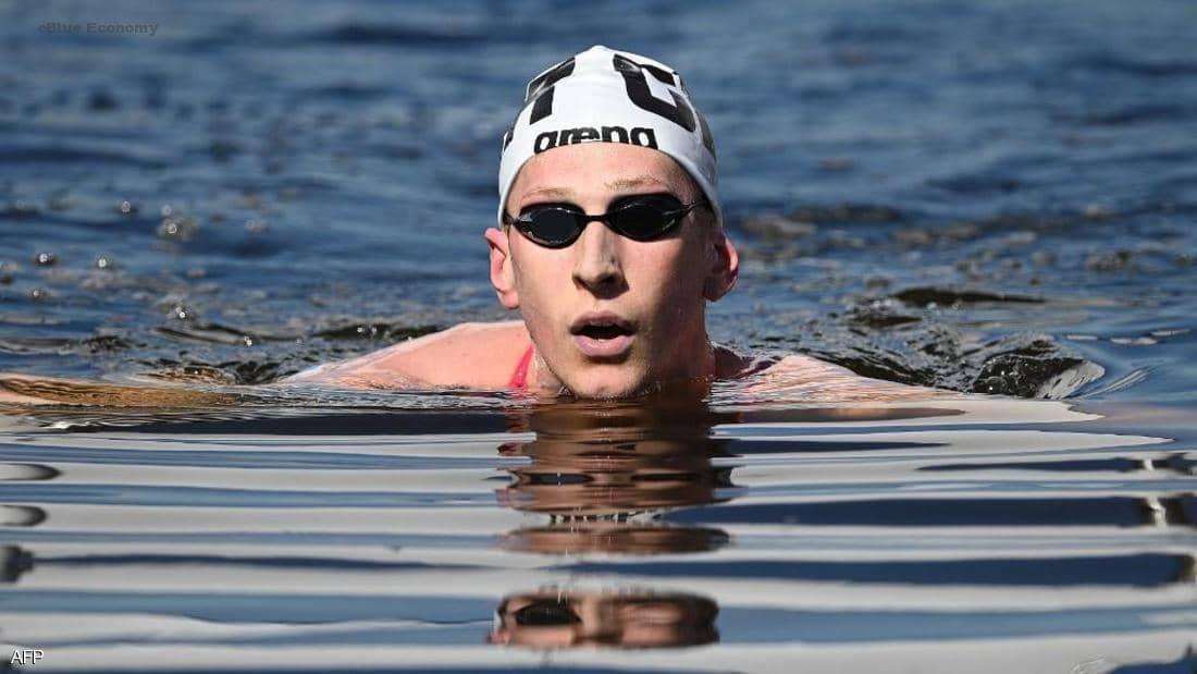 eBlue _economy_الألماني فيلبروك يفوز بذهبية ماراثون السباحة