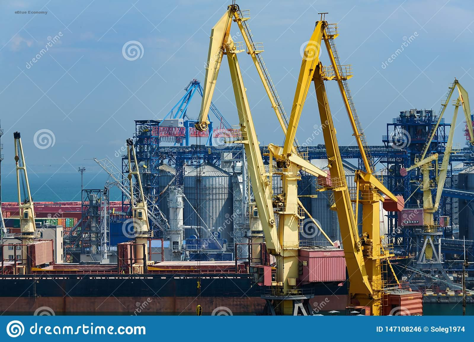 eBlue_economy_ DP World TIS Pivdennyi container terminal in Ukraine shows good results in the first 12 months