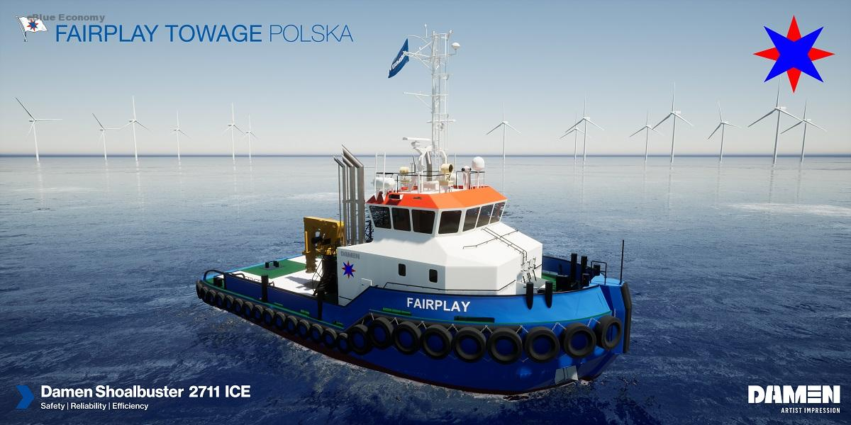 eBlue_economy_Damen signs with Fairplay Towage for IMO Tier III certified Shoalbuster 2711