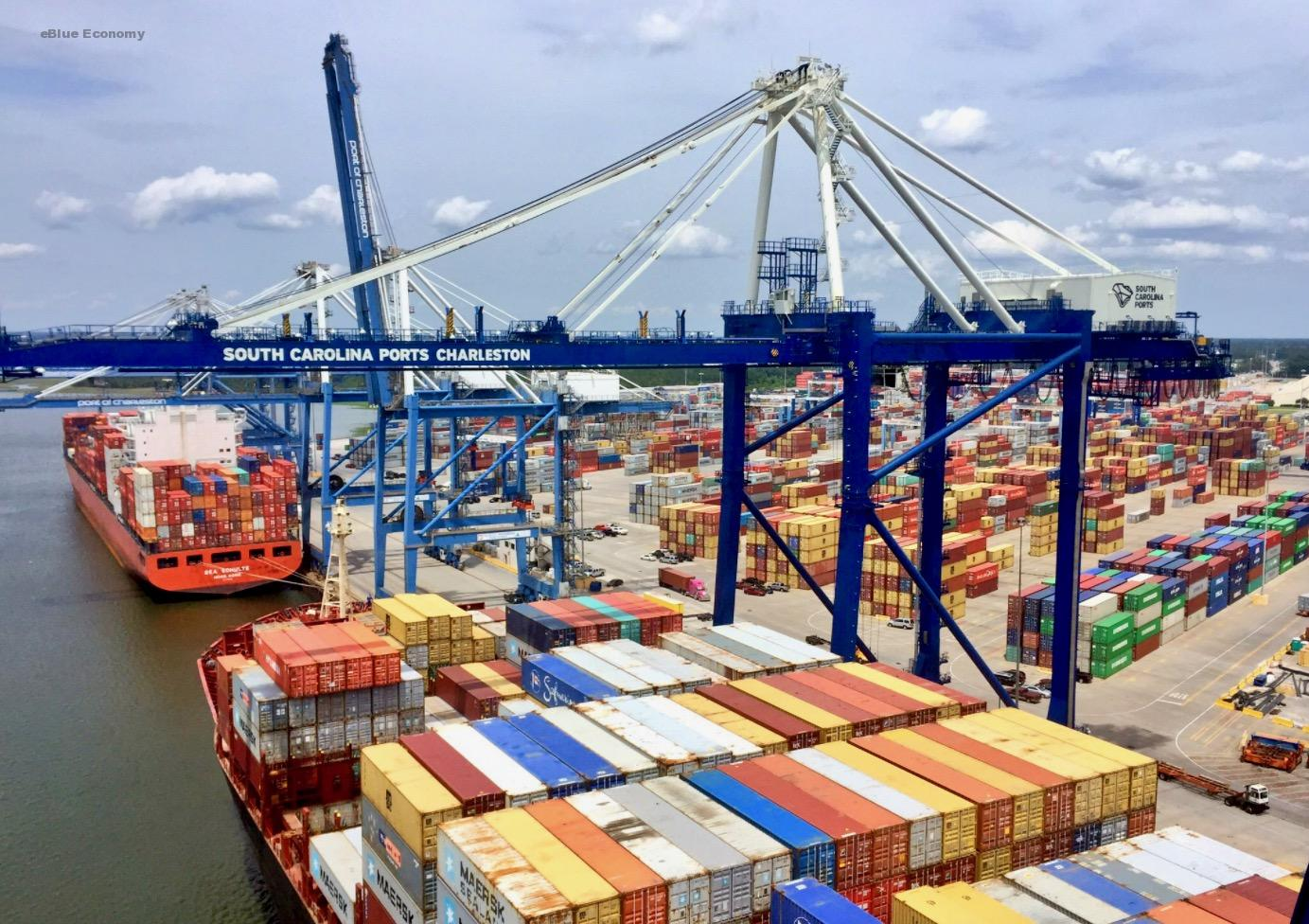 eBlue_economy_SC Ports achieves highest July on record for containers