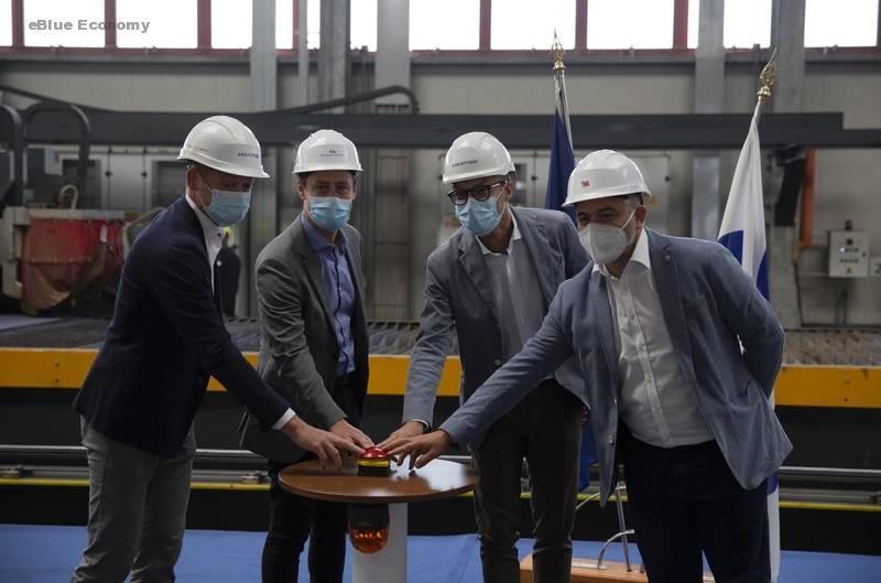 "eBlue_economy_Construction of New ""Sphere"" Class Ship"