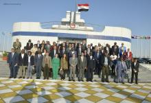 eBlue_economy_الفريق أسامة ربيع يستقبل وفد سفراء الدول الأعضاء بالمنظمة البحرية الدولية