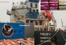 eBlue_economy_Bulk carrier TRUDY second cocaine bust, this time in Rotterdam
