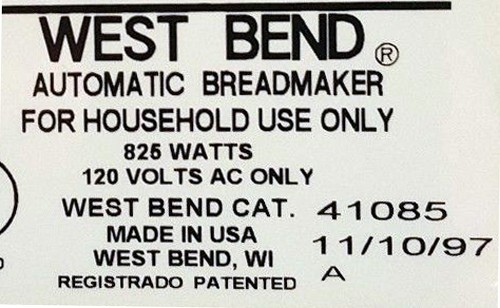 eBlueJay: Kneading Paddles Fits West Bend Model (Cat