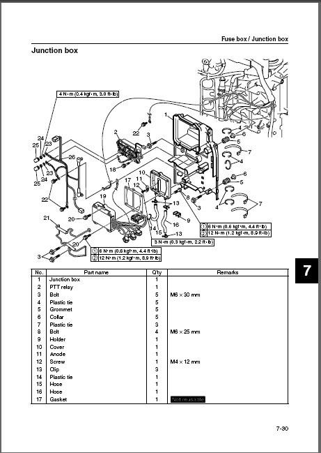 eBlueJay: Yamaha F200 FL200 F250 FL250 ( B-B G-G ) 4