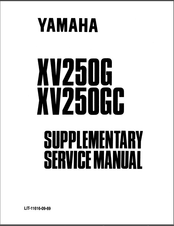 eBlueJay: 1988-2008 Yamaha Virago 250 ( XV250 ) Service