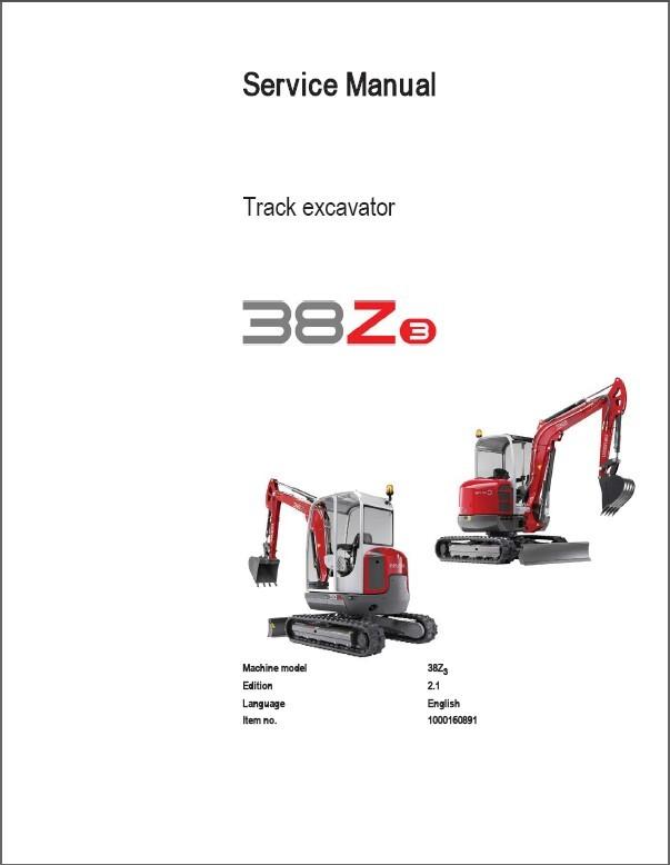 eBlueJay: Wacker Neuson 38Z3 Track Excavator Service