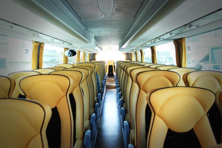 charter bus vs flying