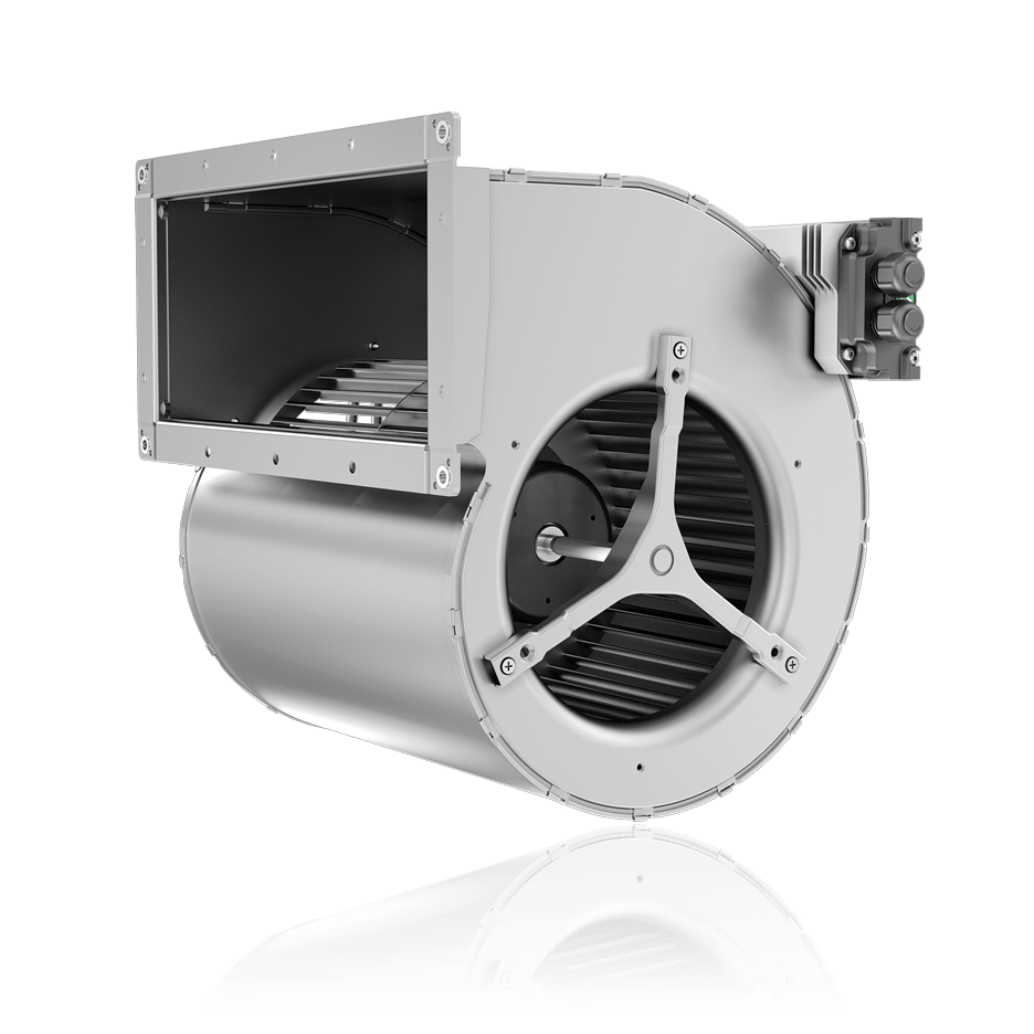 ec centrifugal blower with high power