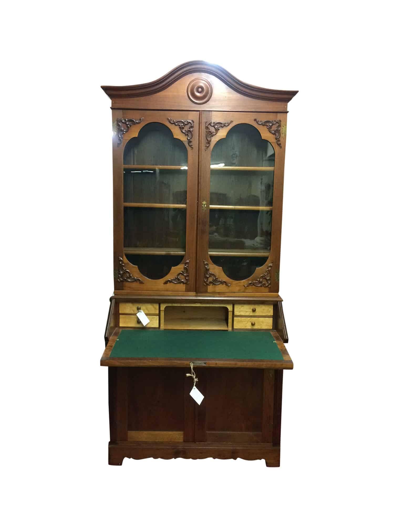 Victorian Desk  Antique Secretary Desk  Bohemians