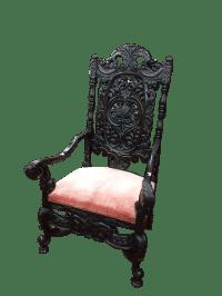 Antique Gothic Chair  Bohemian's