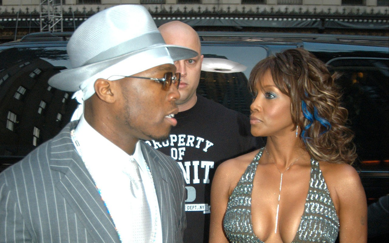50 Cent Argues Ex Vivica Fox Would Be Considered Crazy