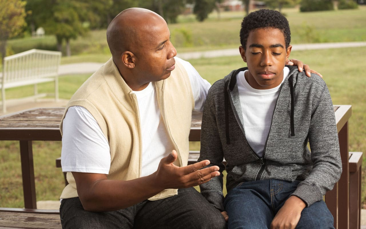 How The Talk Between Black Fathers and Sons Has Evolved