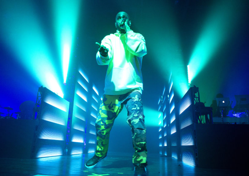 """Rapper Big Sean performs in concert during his """"I Decided Tour"""" at The Fillmore on Wednesday, April 12, in Philadelphia. Photo: Owen Sweeney/Invision/AP"""
